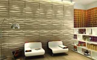 Какие бывают панели для отделки стен