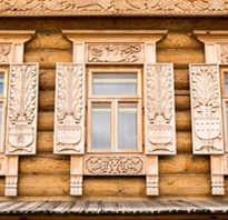 Изготовление деревянных наличников на окна