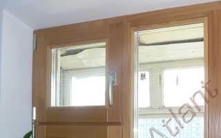 Деревянные окна с форточкой для квартиры