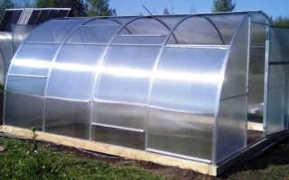 Теплицы из поликарбоната с раздвижной крышей