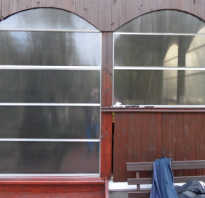 Окна из поликарбоната для веранды своими руками