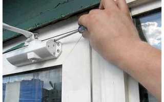 Как отрегулировать дверной доводчик?