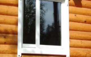 Правильная установка пластиковых окон в деревянном доме