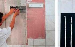 Как прикрепить зеркало к стене из гипсокартона