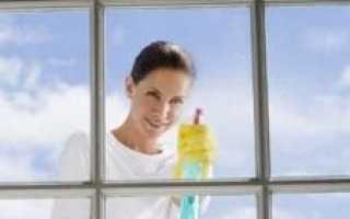 Как сделать очиститель для стекол?