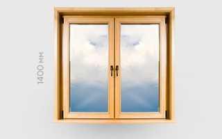 Деревянные окна со стеклопакетом от производителя