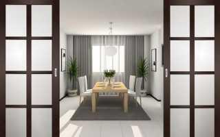 Как сделать раздвижные межкомнатные двери своими руками?