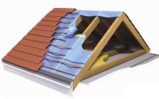 Укладка профнастила на крышу своими руками