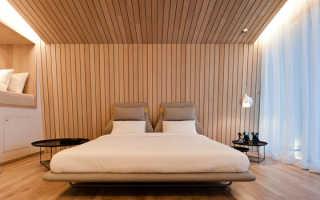 Деревянная обшивка стен в квартире