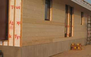 Способы крепления имитации бруса к стене