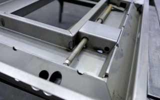 Как сделать металлическую дверь своими руками?