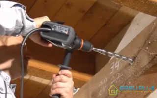 Каким сверлом сверлить бетонную стену