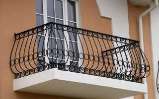 Высота ограждения балкона в жилых зданиях