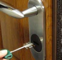 Как заменить замок в металлической двери самому?