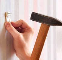 Крючки на стену без сверления