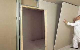 Как усилить стену из гипсокартона для кухни