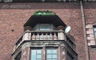 Гидроизоляция балкона над эркером