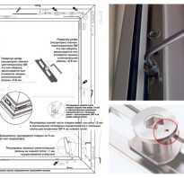 Как подкрутить ручку на пластиковом окне