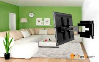 Как повесить телевизор на стену из гипсокартона