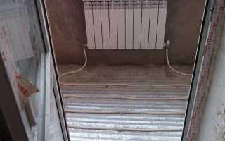 Теплый пол для балкона какой лучше