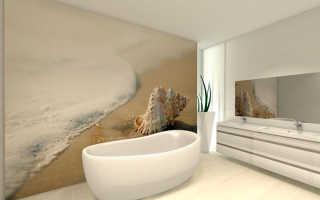 Чем сделать стены в ванной кроме плитки