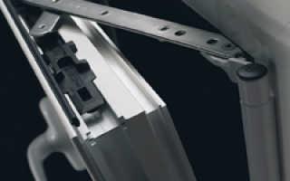 Регулировка алюминиевых окон