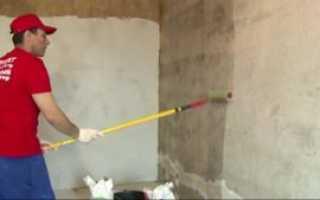 Зачем грунтовать стены перед шпаклевкой