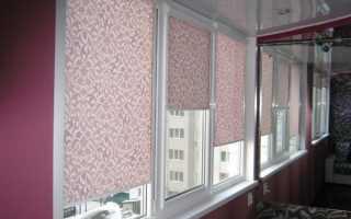 Как измерить рулонные шторы на пластиковые окна