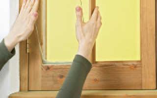 Как вставить стекло в деревянную раму?