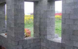 Монолитный керамзитобетон толщина стен