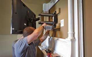Как закрепить телевизор на стене из гипсокартона