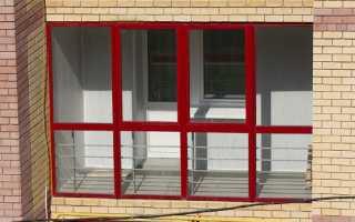 Как утеплить алюминиевый профиль на балконе