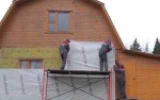 Крепеж для утеплителя к деревянной стене