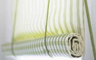 Как самому сделать рулонные шторы своими руками?