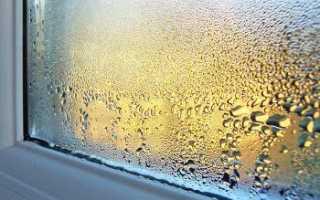 Почему собирается конденсат на пластиковых окнах