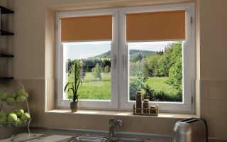Как устанавливаются рулонные шторы на пластиковые окна