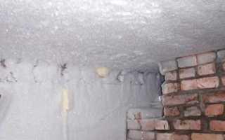 Утепление стен подвала снаружи экструдированным пенополистиролом