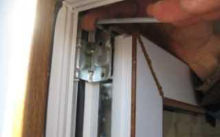 Установка и регулировка пластиковых дверей