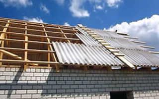 Как правильно перекрыть крышу шифером