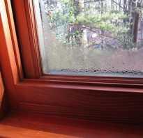 Почему запотевают пластиковые окна на лоджии