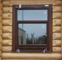 Правила установки пластиковых окон в деревянном доме