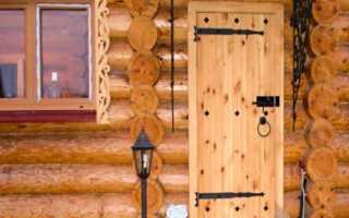 Как собрать деревянную дверь своими руками?