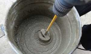 Состав цементного раствора для штукатурки стен