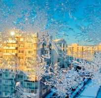 Чем утеплить стеклопакеты на зиму