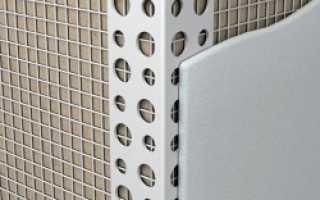 Как выровнять угол стены 90 градусов