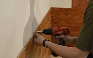 Как правильно крепить панели ПВХ на стену