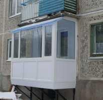 Можно ли построить балкон на первом этаже