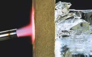 Утепление стен базальтовыми плитами технология