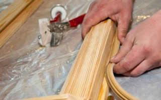 Пазовый уплотнитель для деревянных окон