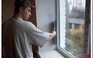 Чем красить откосы на окнах внутри